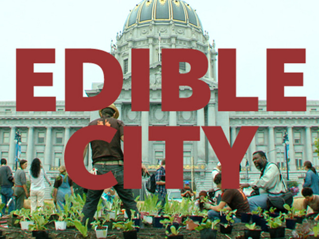EDIBLE CITY - a movie in the making's video poster