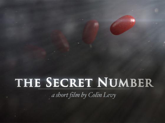 THE SECRET NUMBER // short film's video poster