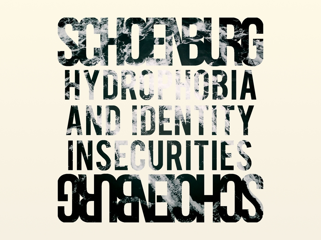 """SCHOENBURG's Debut LP, """"Hydrophobia & Identity Insecurities""""'s video poster"""