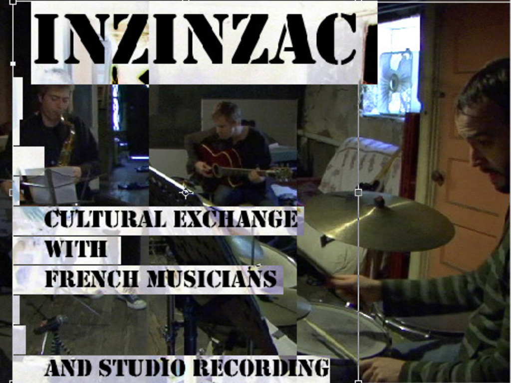 Inzinzac - Cultural Exchange with French Musicians & Recording's video poster