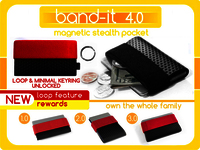 Band-it 4.0 - extra small minimal wallet