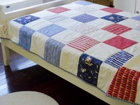 Project:Keep a veteran warm. Quilts for homeless veterans
