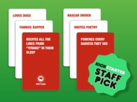 RED FLAGS, the new party game from the creator of SUPERFIGHT