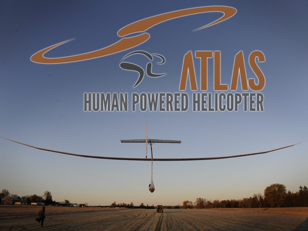 Atlas: A Human-Powered Helicopter for a Historical First!'s video poster