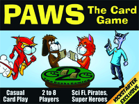 Paws: Devious Dogs versus Crafty Cats - Card Game