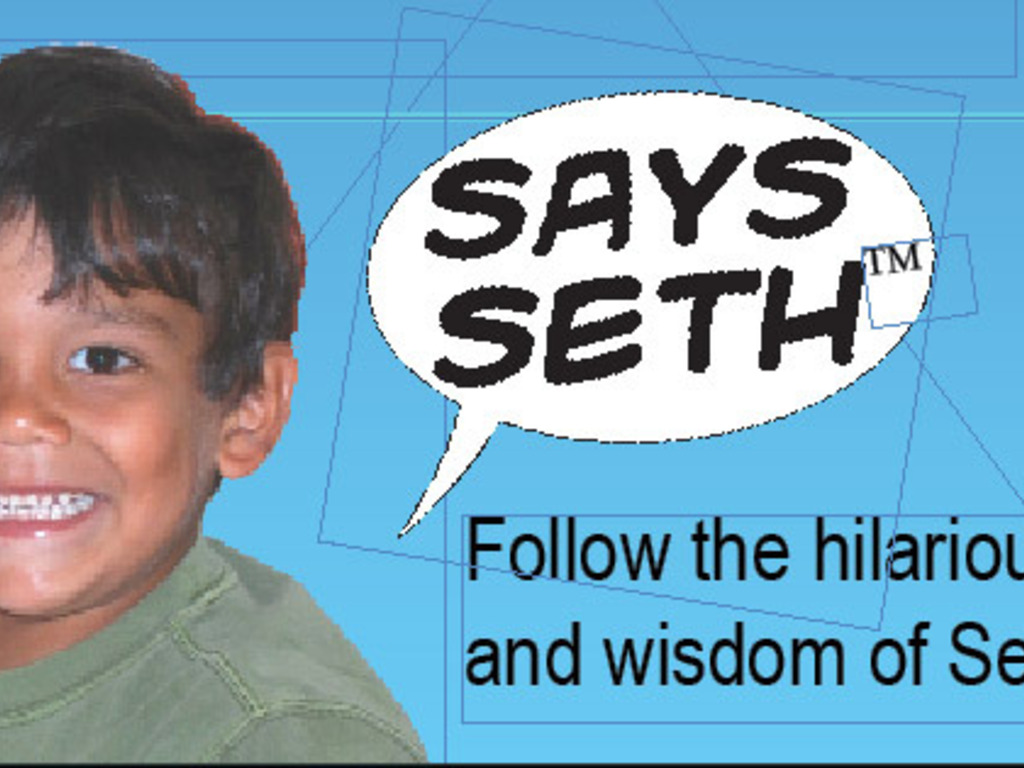 Says Seth: The Life Observations of a Very Funny Child's video poster