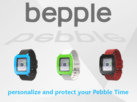 Bepple Covers  -  personalize and protect your Pebble Time