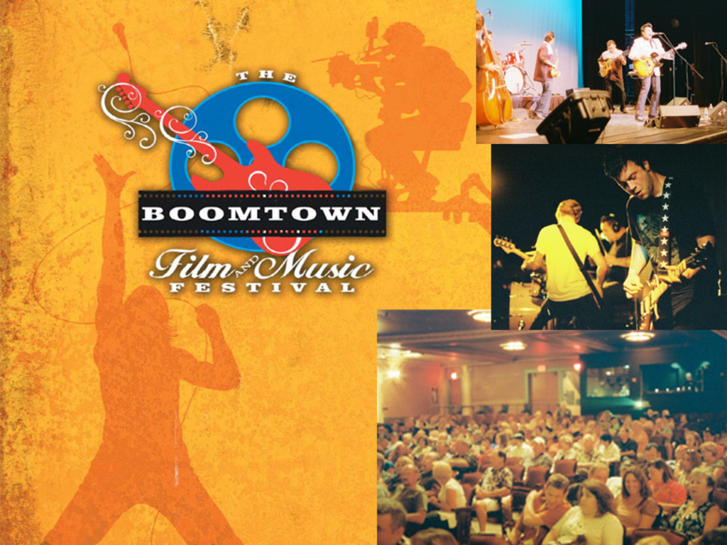 The Boomtown Film and Music Festival's video poster