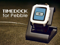 TIMEDOCK Charging Dock for Pebble Time & Steel Smartwatch