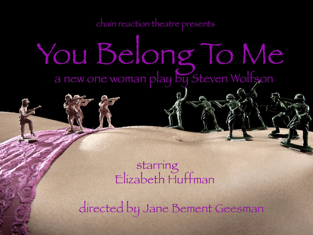 You Belong To Me - a new one-woman play by Steven Wolfson's video poster