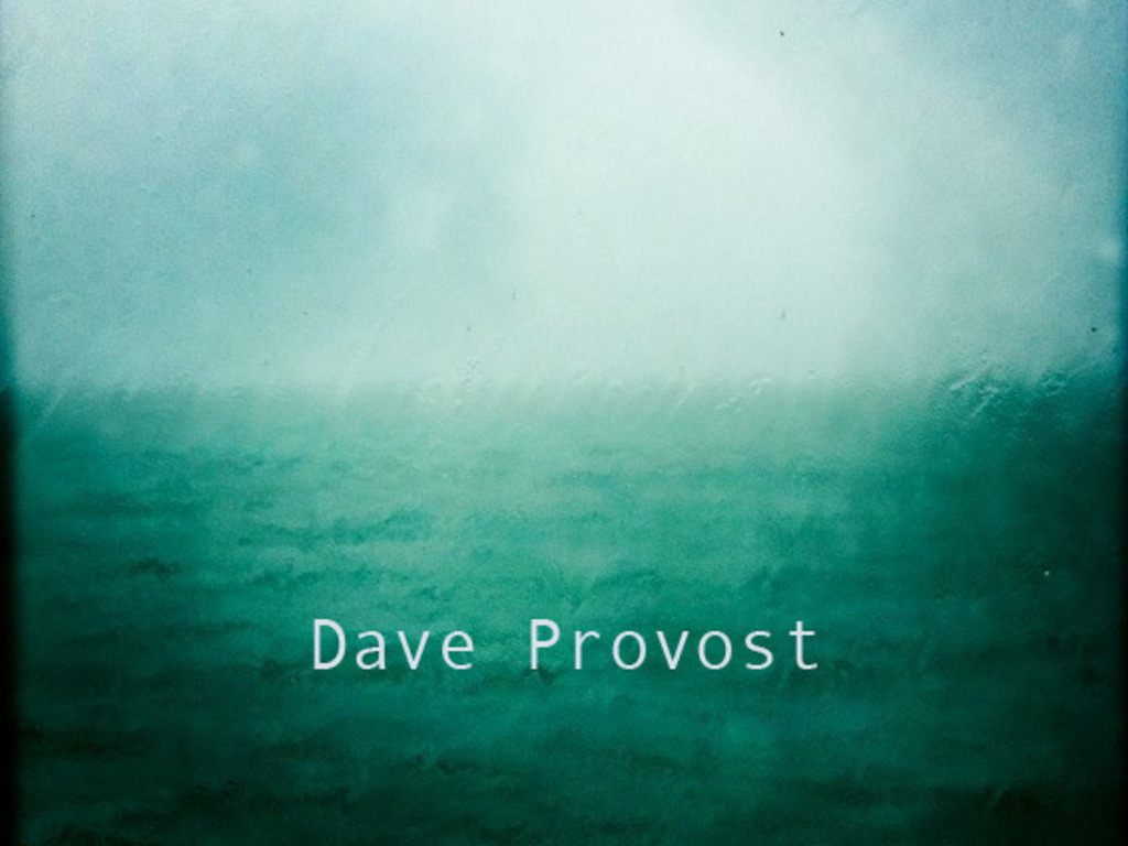 The New Album by Dave Provost's video poster