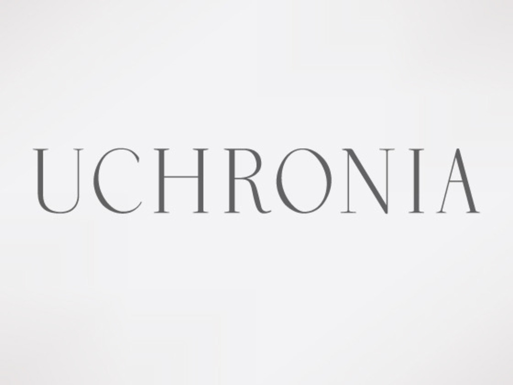 Uchronia Typeface's video poster