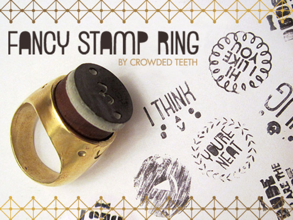 Crowded Teeth Fancy Stamp Ring's video poster