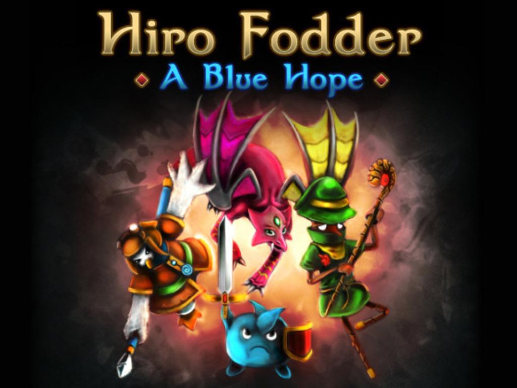 Hiro Fodder: A Blue Hope - A late 16-bit era inspired RPG's video poster