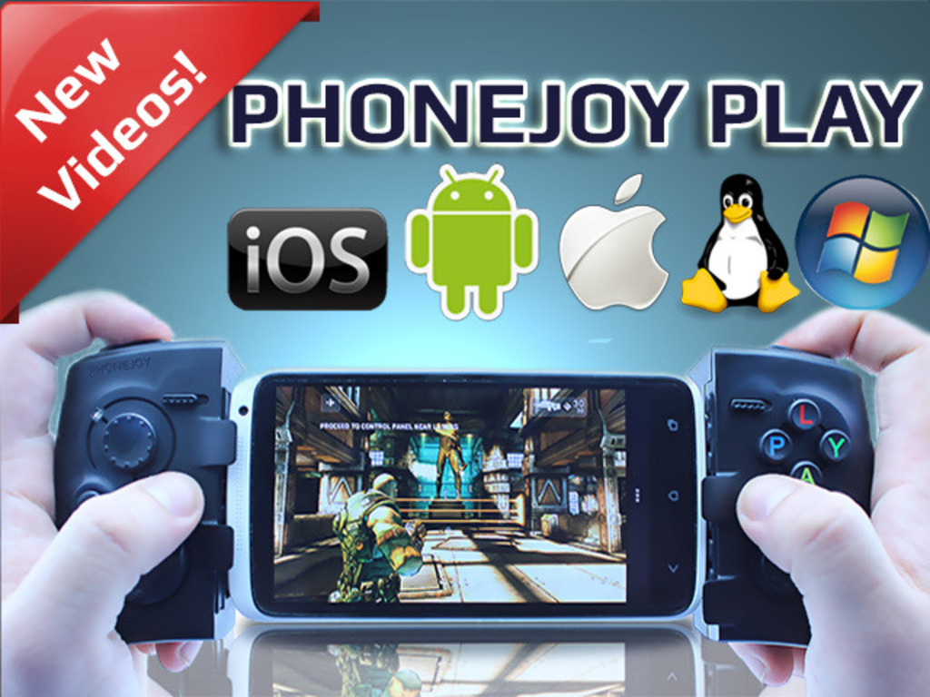 PhoneJoy Play: Turn your phone into a console!'s video poster