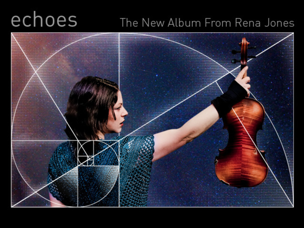Rena Jones' new album's video poster