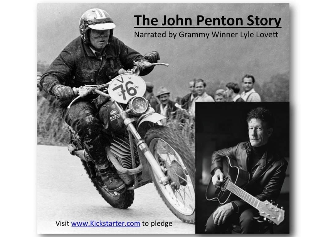 The John Penton Story-Narrated by Lyle Lovett's video poster