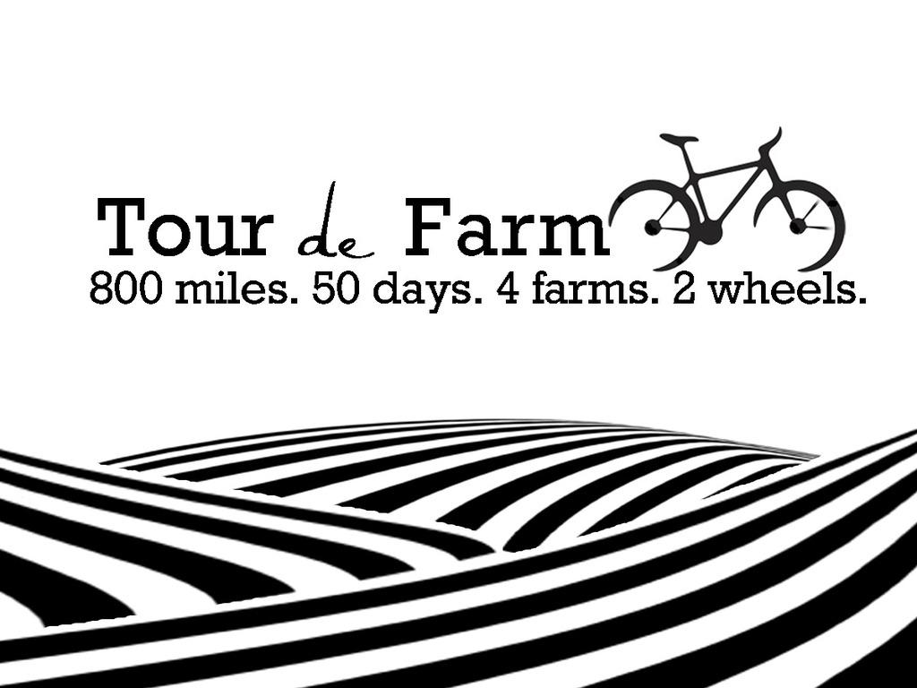 The Tour de Farm's video poster
