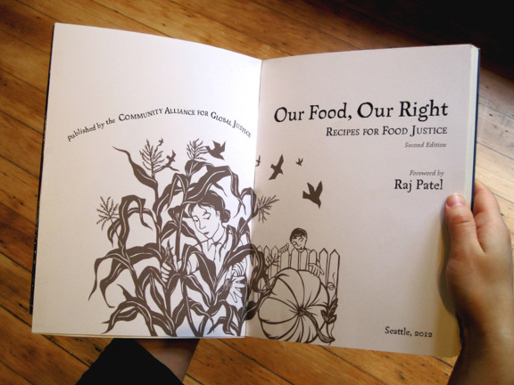 """Our Food, Our Right: Recipes for Food Justice""!'s video poster"