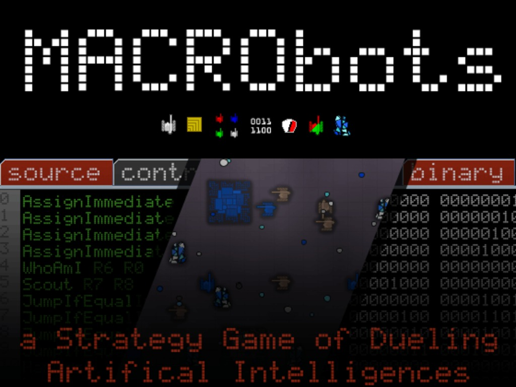 MACRObots - Design and Duel Artificial Intelligences's video poster