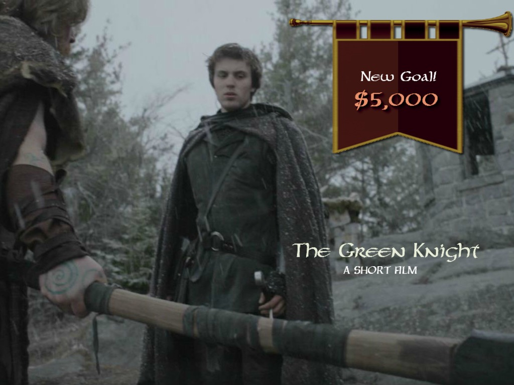 The Green Knight's video poster