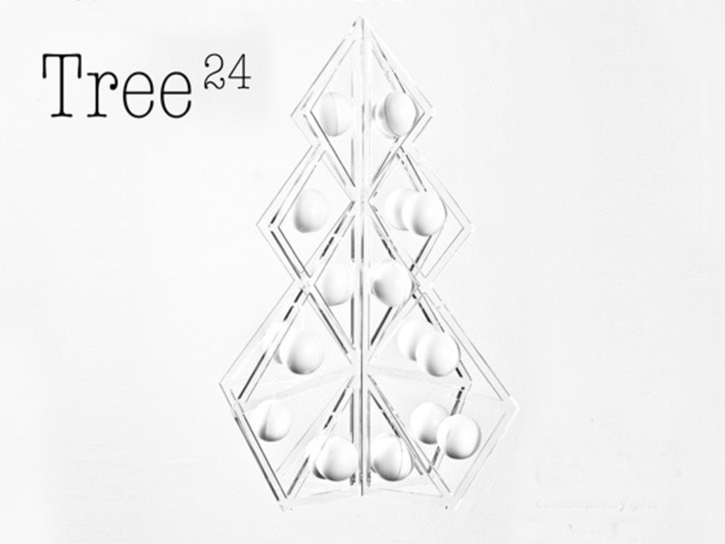 Tree24 - Contemporary Christmas Calendar's video poster
