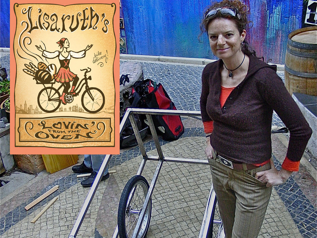 Lisaruth's Lovin' From the Oven Bicycle Trailer Breadmobile's video poster