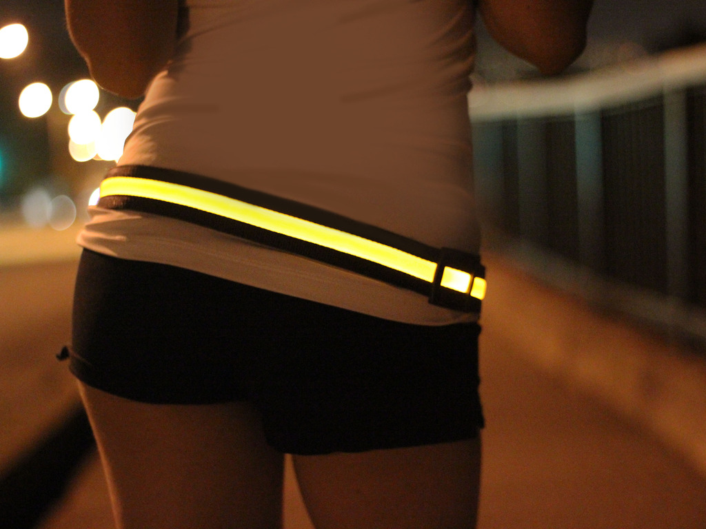 HALO - BRIGHT LED BELT - BE SEEN, BE SAFE's video poster