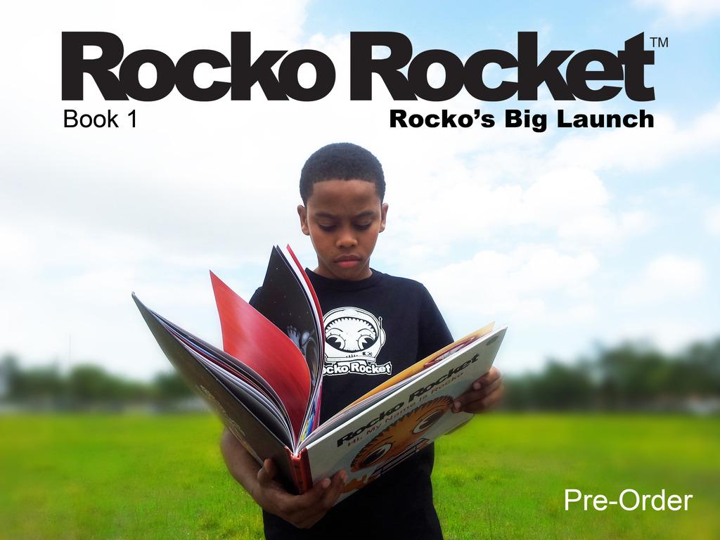 "Rocko Rocket Book 1 (Pre-Order) ""Rocko's Big Launch""'s video poster"
