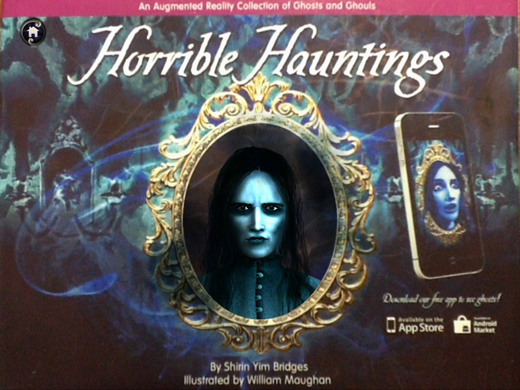 Horrible Hauntings: An Augmented Reality Ghost Book's video poster