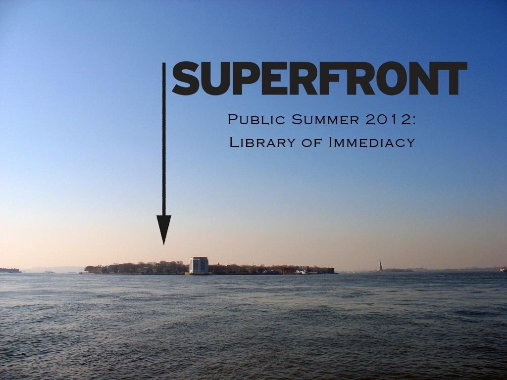 PUBLIC SUMMER 2012: Library of Immediacy's video poster