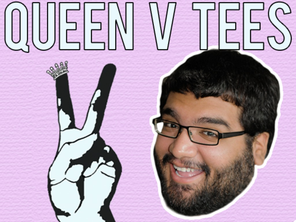 Fund Queen V Tees' First T-Shirts's video poster