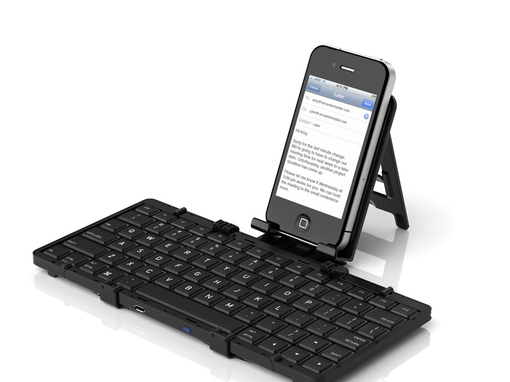 Jorno — the pocketable, folding, bluetooth keyboard.'s video poster