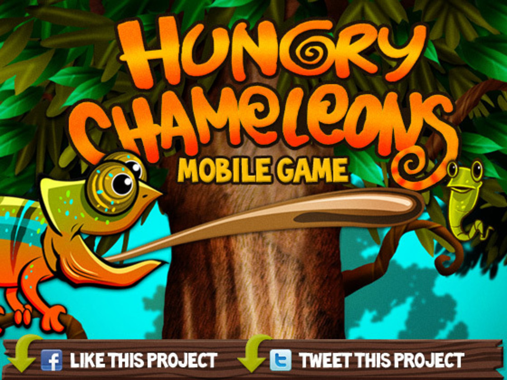 Hungry Chameleons iPhone App Game's video poster