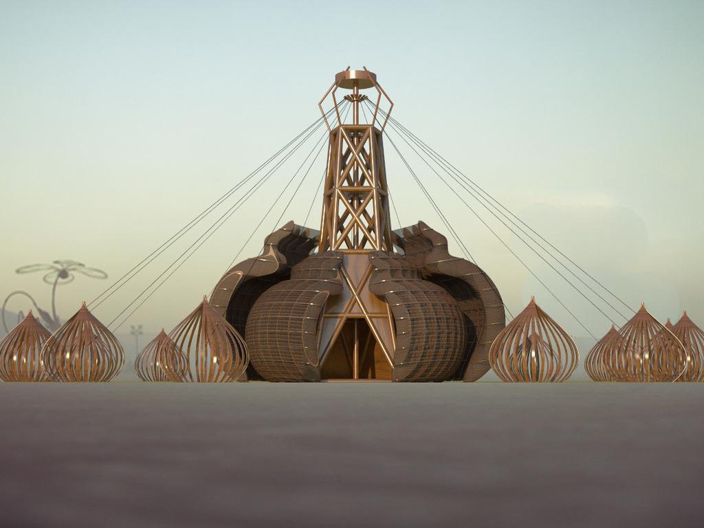 Singularity Transmissions- Burning Man 2012- Honorarium's video poster