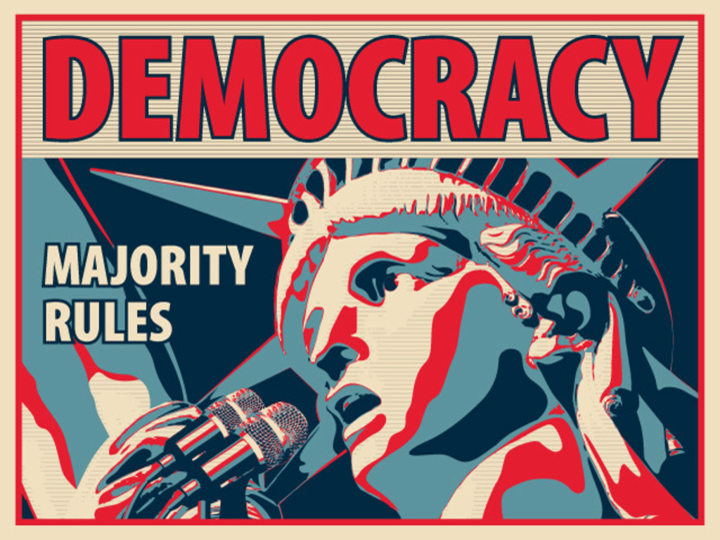 Democracy: Majority Rules - A Game of Politics & Negotiation's video poster