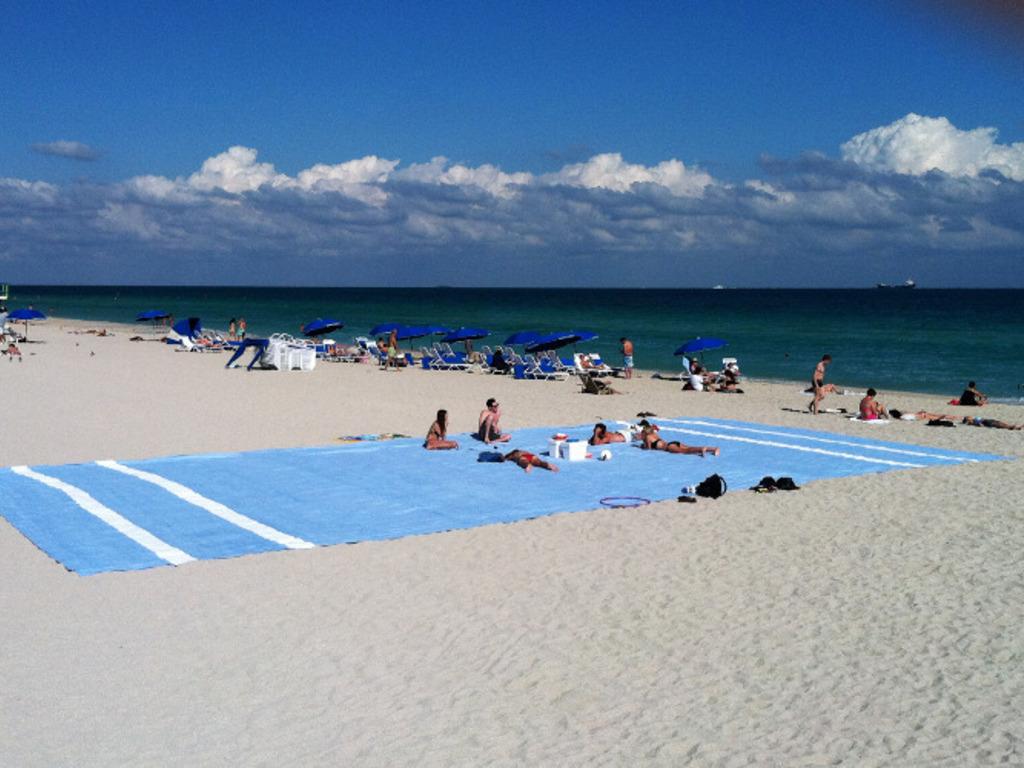 The Beach Towel - East Coast Tour's video poster