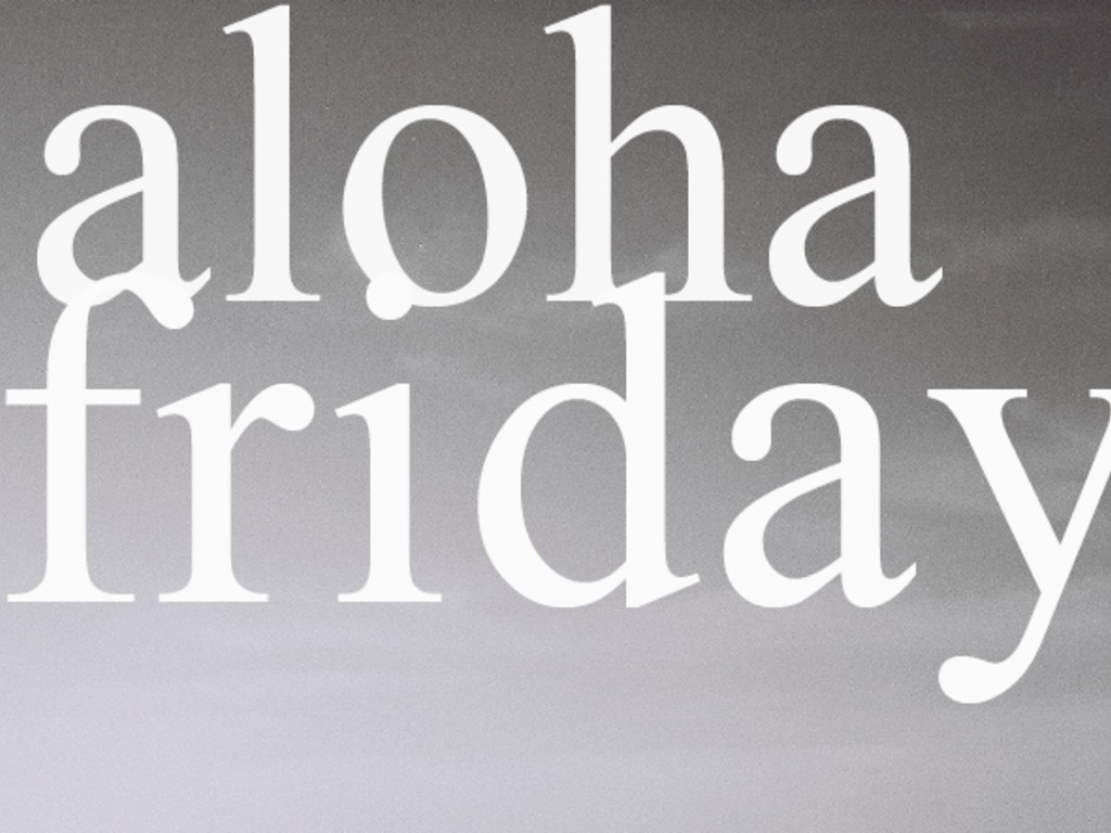 Aloha Friday #4's video poster