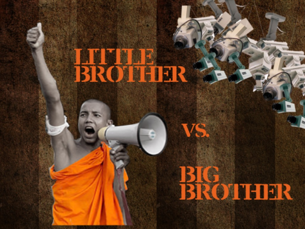 """Little Brother"" vs. Big Brother's video poster"