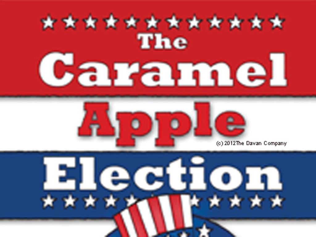 The Caramel Apple Election 2012's video poster