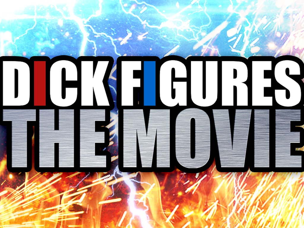Dick Figures: The Movie's video poster