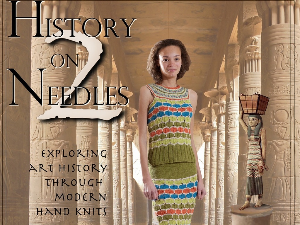 History on Two Needles Knitting Book's video poster
