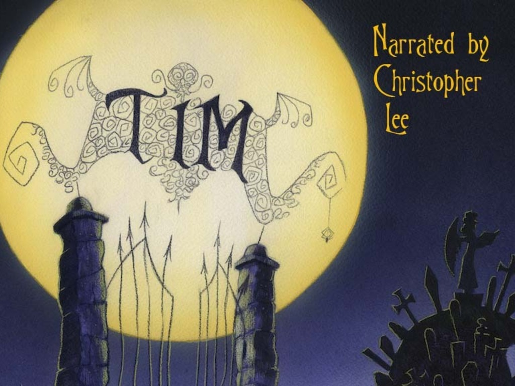 TIM - A TIM BURTON TRIBUTE - NARRATED BY CHRISTOPHER LEE's video poster
