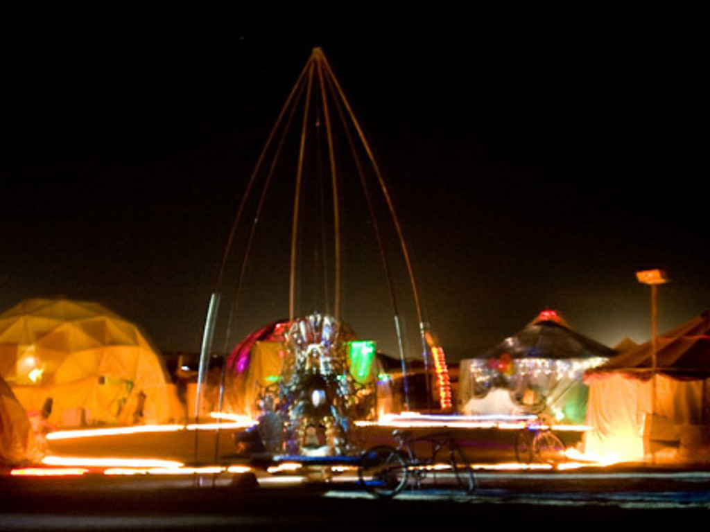 Temple of Alchemy: Burning Man Art Installation's video poster
