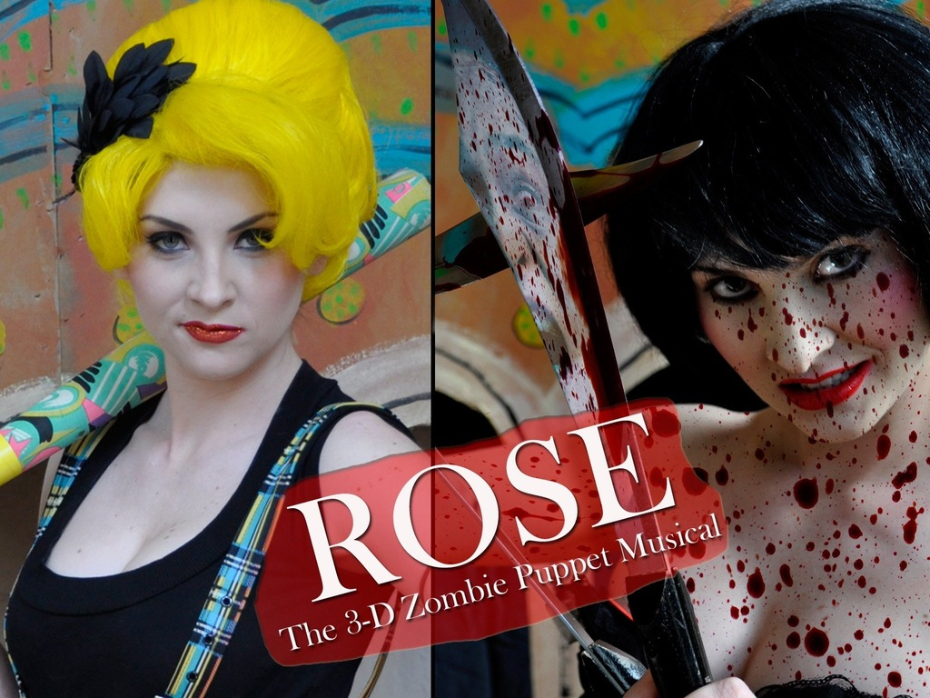"JOHN SKIPP'S ""ROSE"": THE 3D ZOMBIE PUPPET MUSICAL!'s video poster"