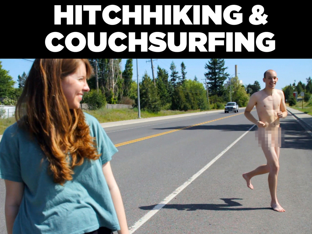 Hitchhiking and Couchsurfing: A Free YouTube Documentary's video poster
