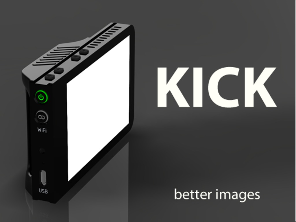 The Kick - a pocket sized lighting studio for photo & video's video poster