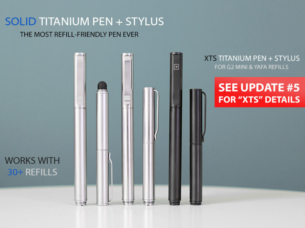 Solid Titanium Pen + Stylus's video poster
