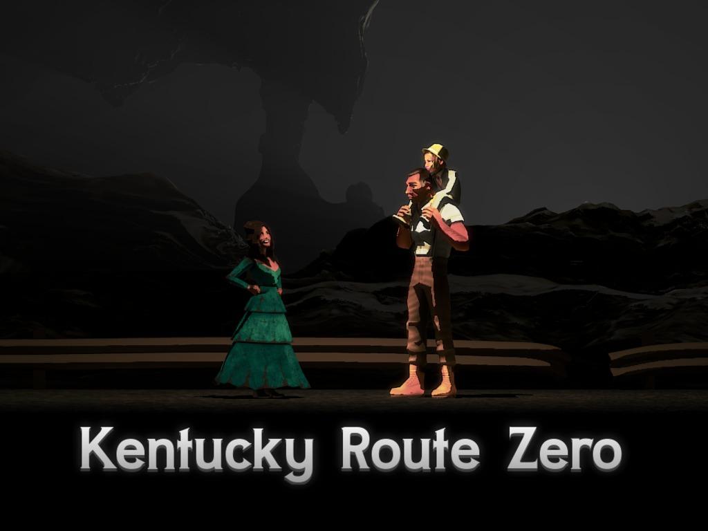 Kentucky Route Zero, a magic realist adventure game's video poster