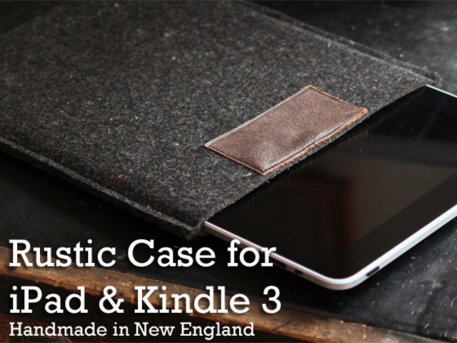 Rustic Case for iPad and Kindle 3's video poster
